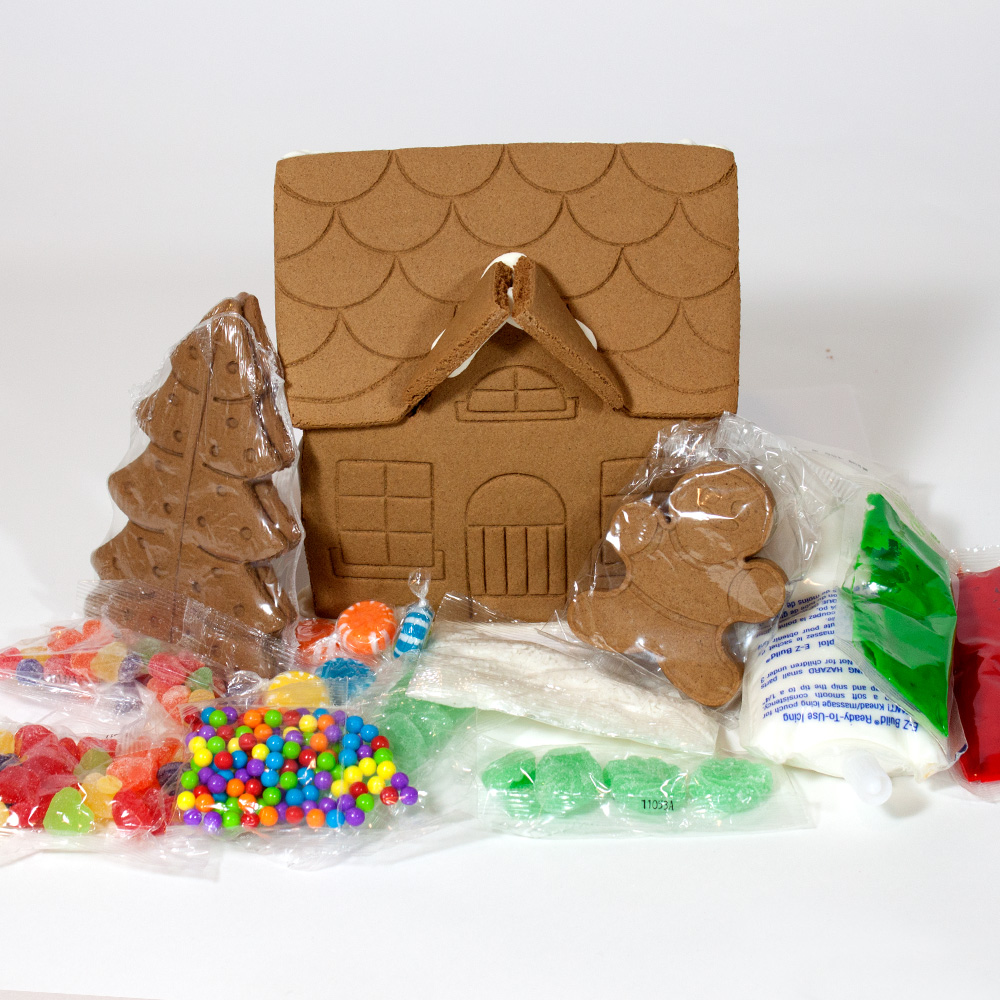 Gingerbread Houses Kits Archives